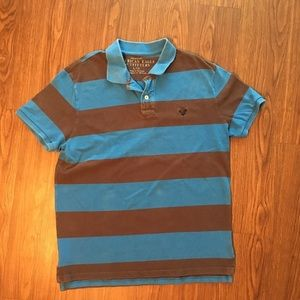 Black & Blue Mens American Eagle Outfitters Shirt